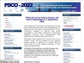 psco-conference.org