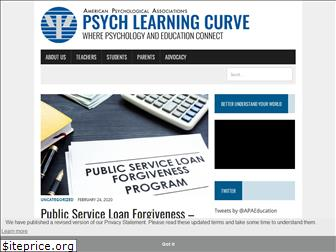 psychlearningcurve.org