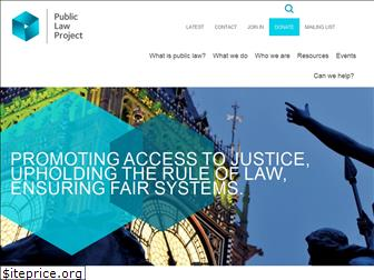 publiclawproject.org.uk