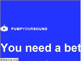 pumpyoursound.com