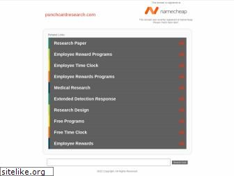 punchcardresearch.com