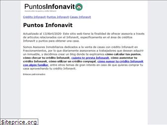 www.puntosinfonavit.com.mx website price