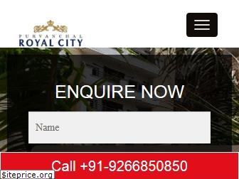 purvanchalroyalcity.ind.in