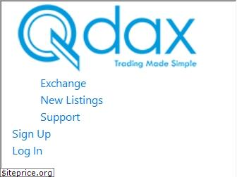 www.qdax.io website price