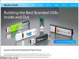 qualitasflashdrives.com