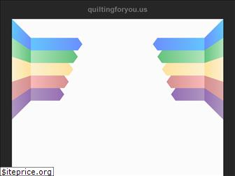 quiltingforyou.us