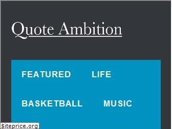 quoteambition.com