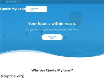 quotemyloan.co.uk