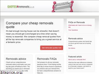 quotes4removals.co.uk