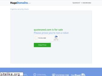 quoteseed.com