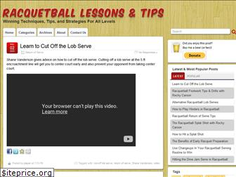 racquetball-lessons.com