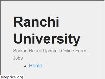 ranchiuniversity.org.in