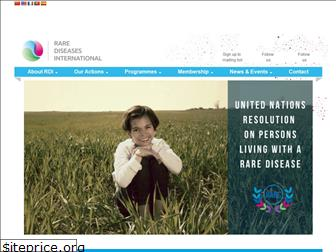 rarediseasesinternational.org