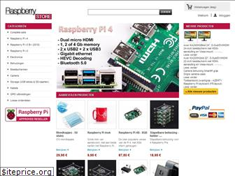 www.raspberrystore.nl website price