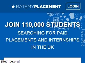 ratemyplacement.co.uk