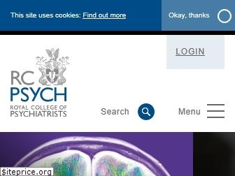 www.rcpsych.ac.uk website price