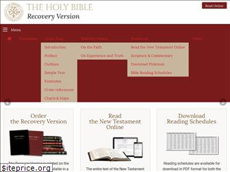 recoveryversion.bible