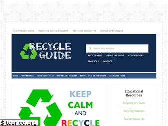 recycleguide.org
