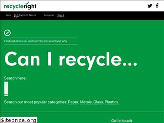 recycleright.org.uk