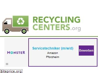 recyclingcenters.org
