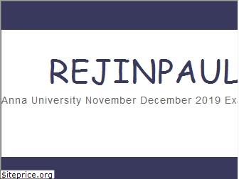 www.rejinpaul.in website price