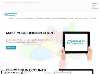 researchchoices.org