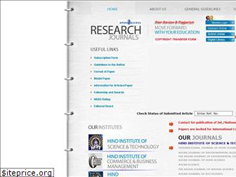 researchjournal.co.in