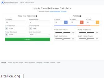 retirementsimulation.com