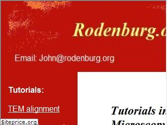 www.rodenburg.org website price