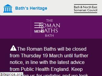 www.romanbaths.co.uk website price