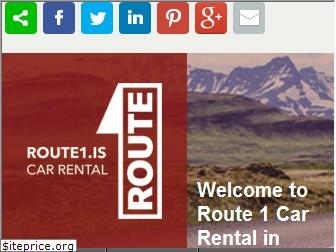 route1carrental.is
