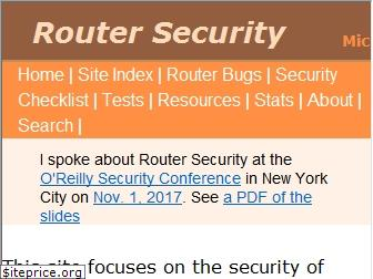 routersecurity.org