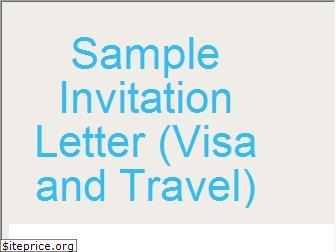 sampleinvitationletter.info
