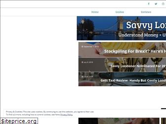 savvylondoner.co.uk