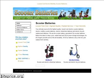 www.scooterbatteries.net website price
