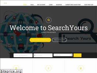 searchyours.in