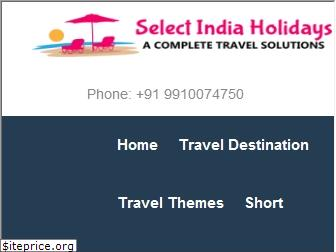 selectindiaholidays.com