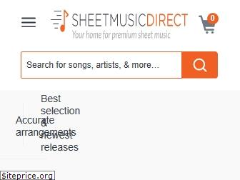 sheetmusicdirect.us