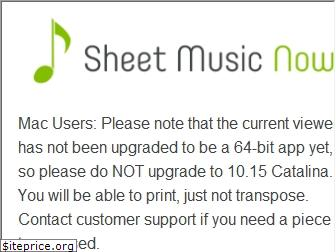 sheetmusicnow.com