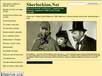 www.sherlockian.net website price