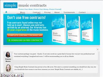 simplemusiccontracts.com