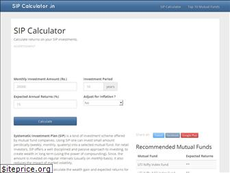 www.sipcalculator.in website price