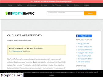 siteworthtraffic.com