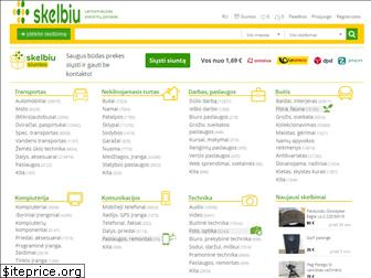 www.skelbiu.lt website price