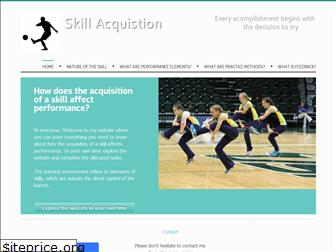 skillacquisition.weebly.com