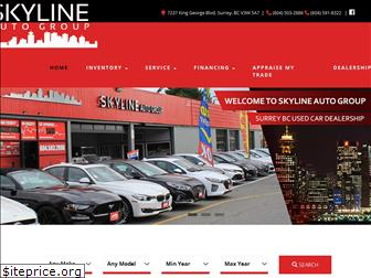 www.skylinemotors.ca website price