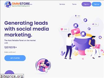 www.smmstore.pro website price