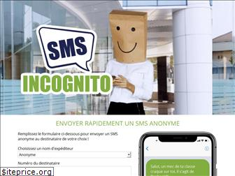 sms-incognito.fr