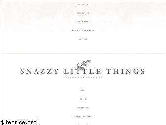 snazzylittlethings.com
