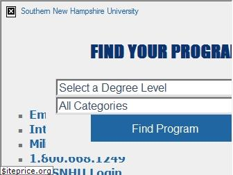 www.snhu.edu website price